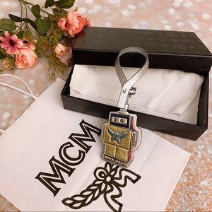 BNIB MCM Robot charm bag/key charm luggage tag